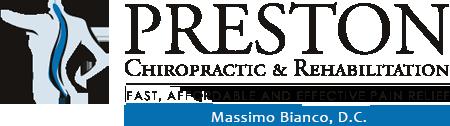 Preston Chiropractic & Rehabilitation logo - Home