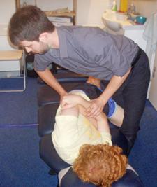 Osborne Park Chiropractic back pain adjustment