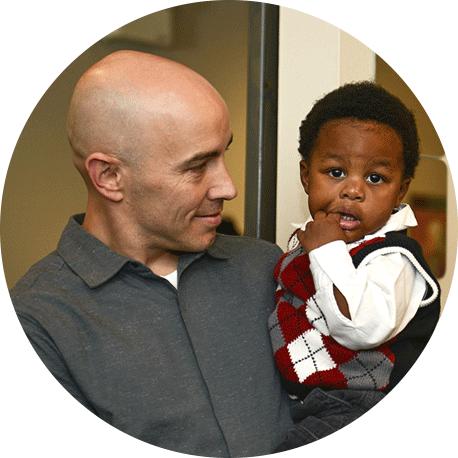 Dr. Jeremy and little boy