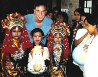 Children of Nepal show their traditional festive costumes. Chiropractic is safe and effective for kids, too!