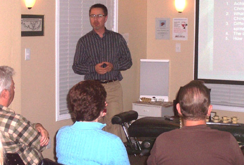 speaking at a Wellness Workshop