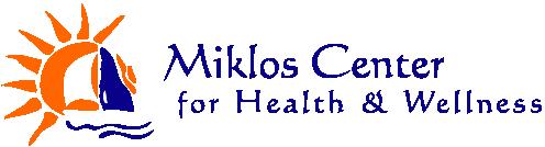 Miklos Center for Health & Wellness logo - Home