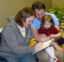 a chiropractic family