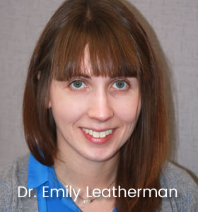 Get to Know Dr. Emily Leatherman