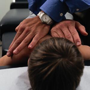 Hands on adjustment