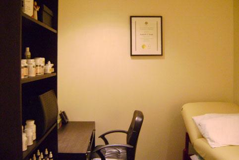 Naturopathic Medicine Treatment Room