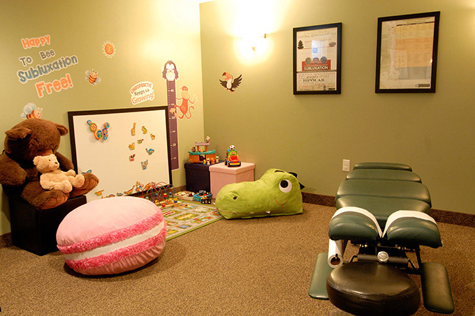 Childrens Adjustment Room and Play Area