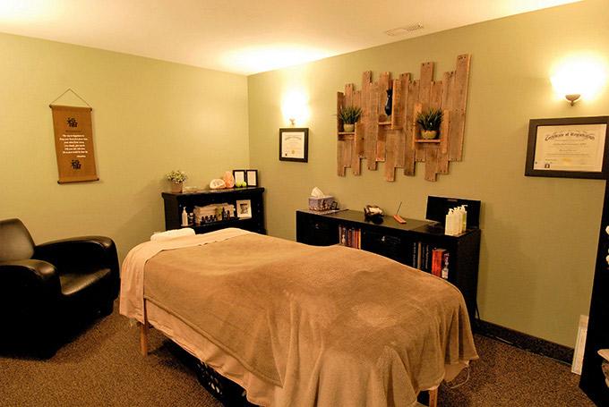 Relaxing Massage Room