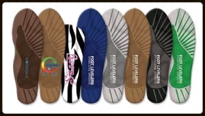 Photo of different types of orthotics