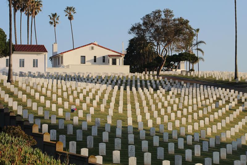 Naval Cemetery, Cabrillo Point - Ken Swaim, 02/28/21