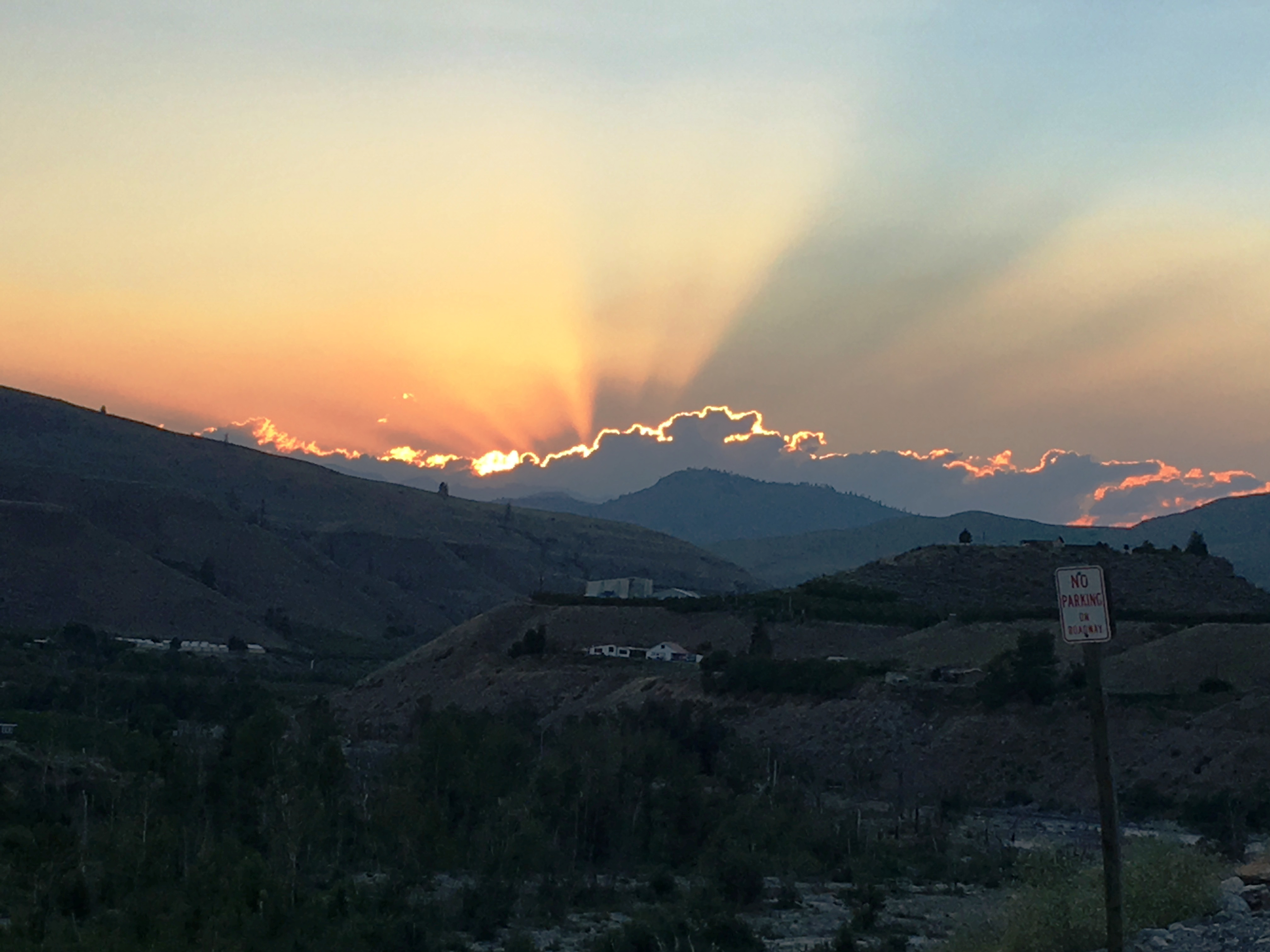 Sunset in Pateros