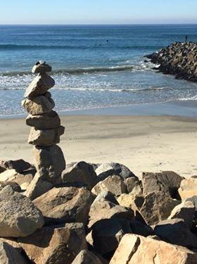 Balance from Carlsbad, CA Beach