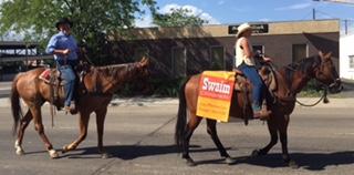 Dr. Swaim & Abbey Riding Horses