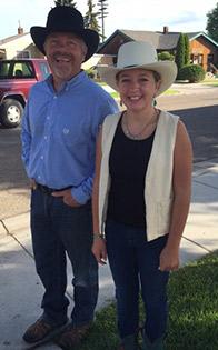 Dr. Swaim & his daughter