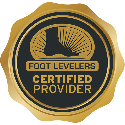 Foot Levelers certified provider logo