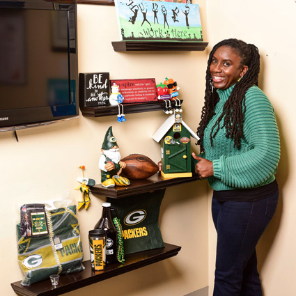 dr marcia is a packers shareholder