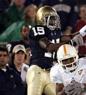 Leo Ferrine: Notre Dame and Delaware, Defensive Back
