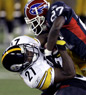 Reggie Corner, Buffalo Bills, Akron University, Defensive Back