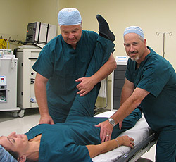manipulation under anesthesia