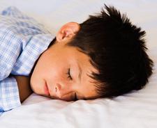 Boy sleeping peacefully