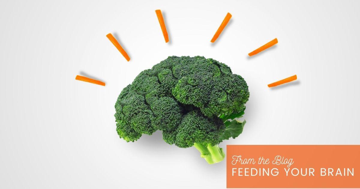 Broccoli shaped like a brain.