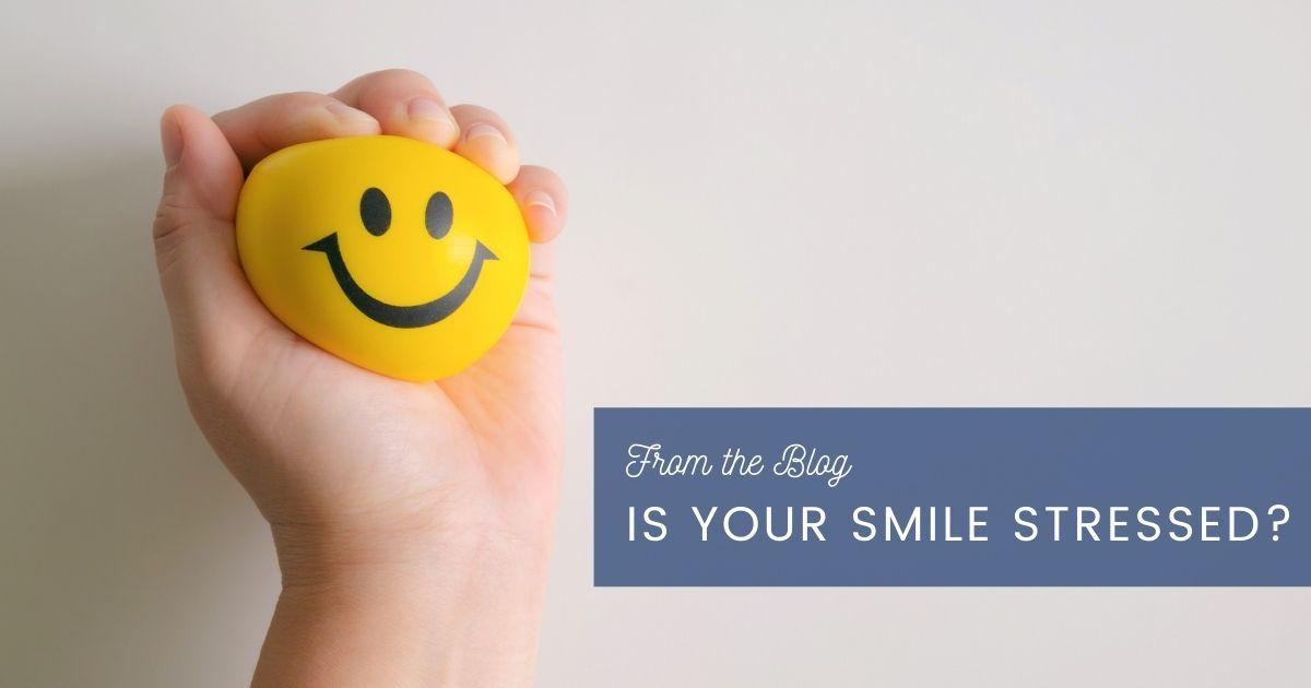 Smiley stress ball.