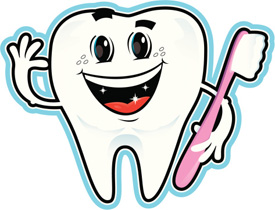 Smiling Tooth Illustration