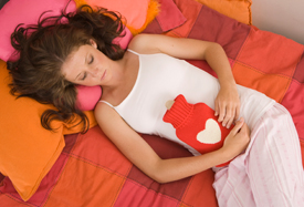 PMS stomach cramps