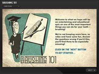 Brushing 101 Dental e-Learning