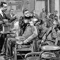 Dentistry, the old fashion way
