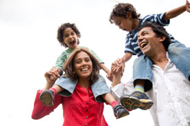 Happy family at Broadway Family Chiropractic
