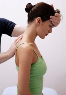 Winter Garden chiropractor adjusting a patient