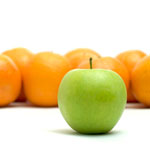 Oranges and apple