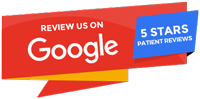 Google reviews red banner