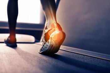 Heel pain while walking