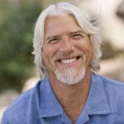 Man with gray hair and beard