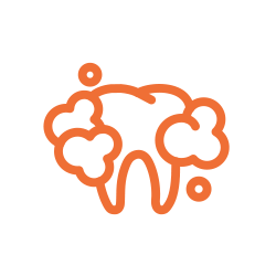 clean tooth illustration