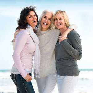 Smiling Older Women