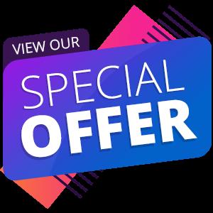 Special offer banner