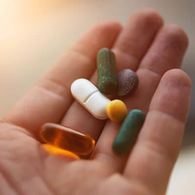 Handful of supplements