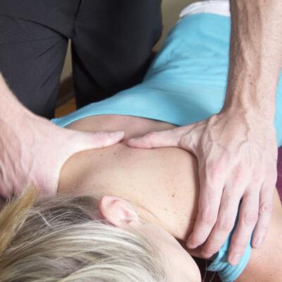 Upper back adjustment