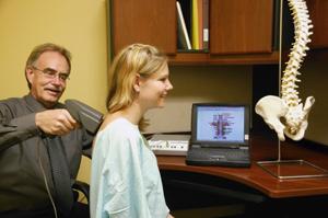 Chiropractic examination