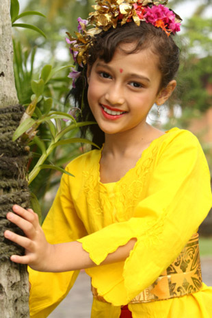 Young Bali girl