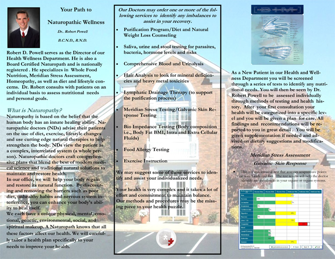 wellness brochure back