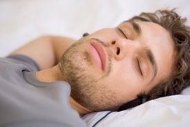 Developing a healthy sleep pattern is important.
