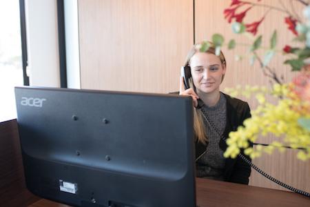 Monica front desk