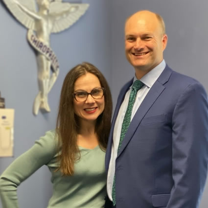 Dr. Schoenheer and his wife