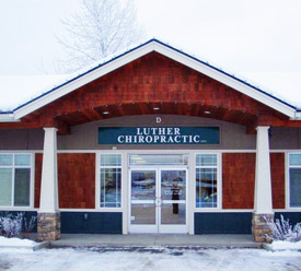 main entrance of Luther Chiropractic