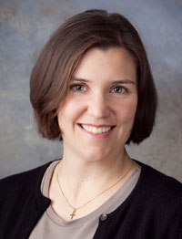 Portrait of chiropractor in Madison, Dr. Jamie Lenz