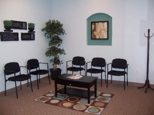 Synergy Chiropractic & Wellness Center Waiting Area